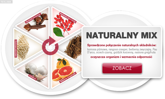 Pasożyty leczenie naturalne